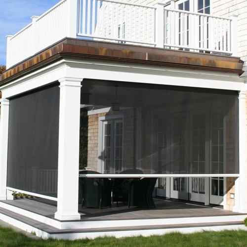 Cortinas para exteriores cortinas para puertas interiores for Cortinas para terrazas exteriores